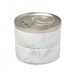 BOX TESORA JEWELRY WHITE NICKEL