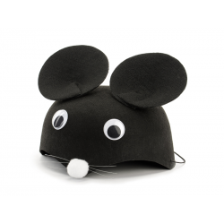 Czapka Myszka, czarny