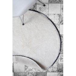Dywanik łazienkowy 90x90/RONAN ECRU
